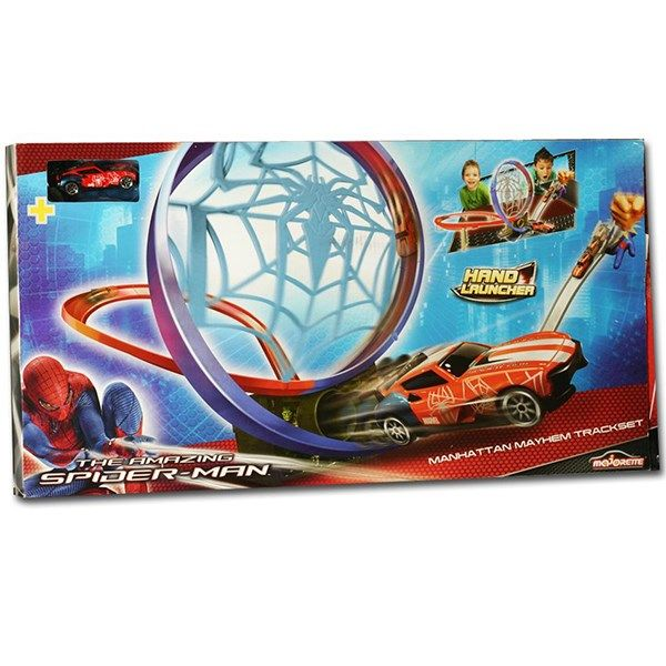 کیت ماشین بازی ماژورت سری مرد عنکبوتی مدل Manhattan Mayhem کد 213089717