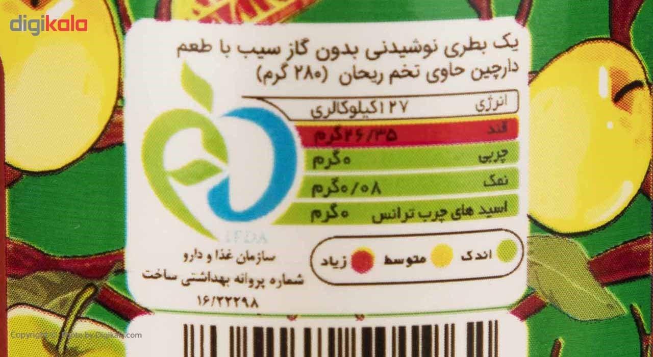 نوشیدنی دانه ریحان با طعم سیب و دارچین ماتینا حجم 0.28 لیتر main 1 4