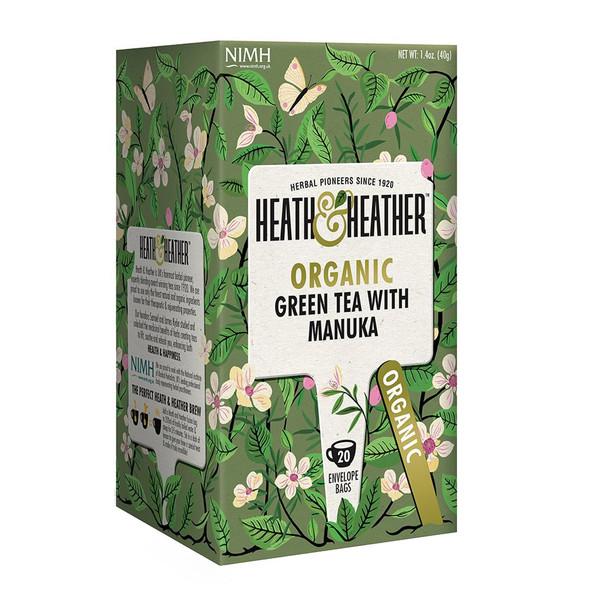 بسته دمنوش هیت و هیتر مدل Green Tea With Manuka Honey