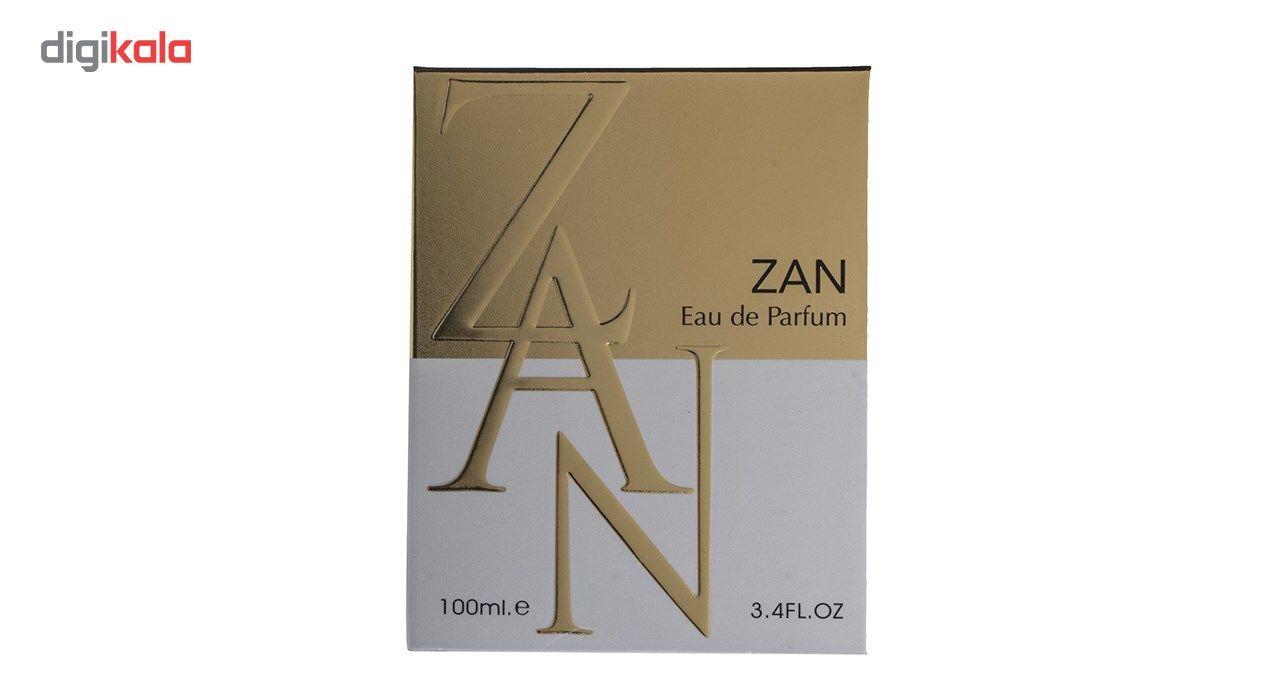 ادو پرفیوم زنانه فراگرنس ورد مدل Zan حجم 100 میلی لیتر main 1 2