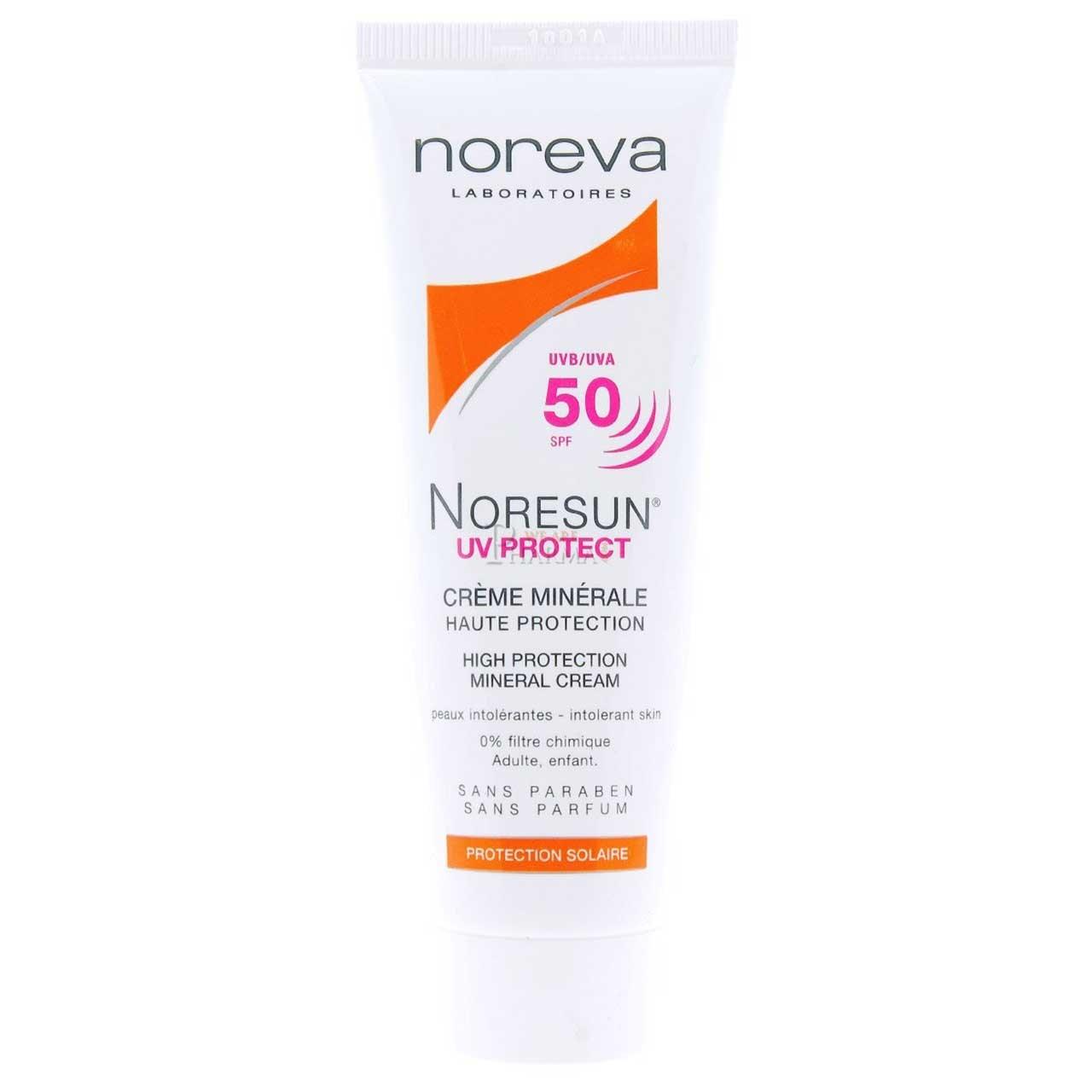 قیمت کرم ضد آفتاب نوروا مدل Noresun SPF50 حجم 40 میلی لیتر