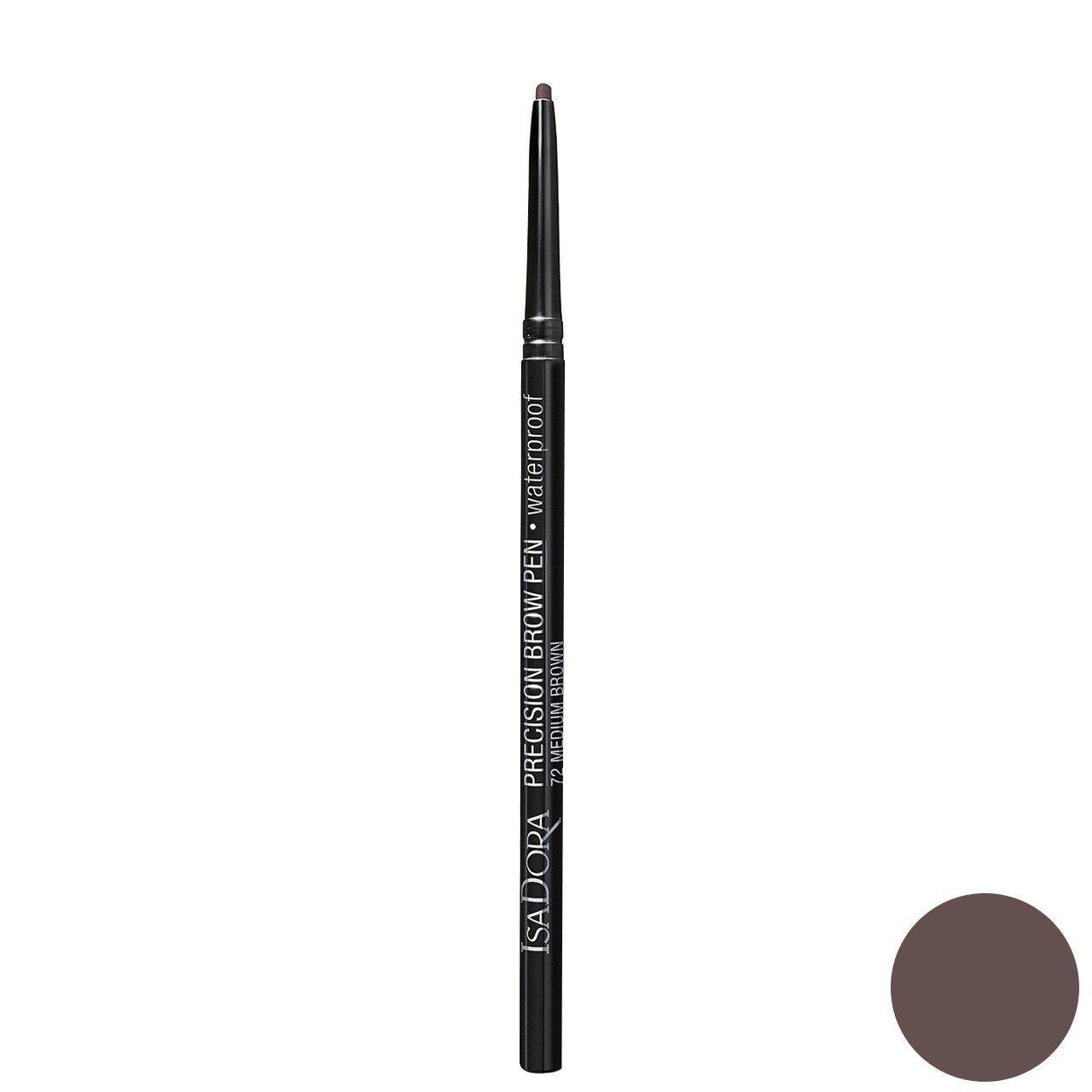 مداد ابرو ایزادورا مدل Precision Brow Pen شماره 72 -  - 1
