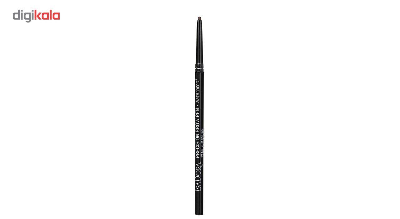 مداد ابرو ایزادورا مدل Precision Brow Pen شماره 72 -  - 2