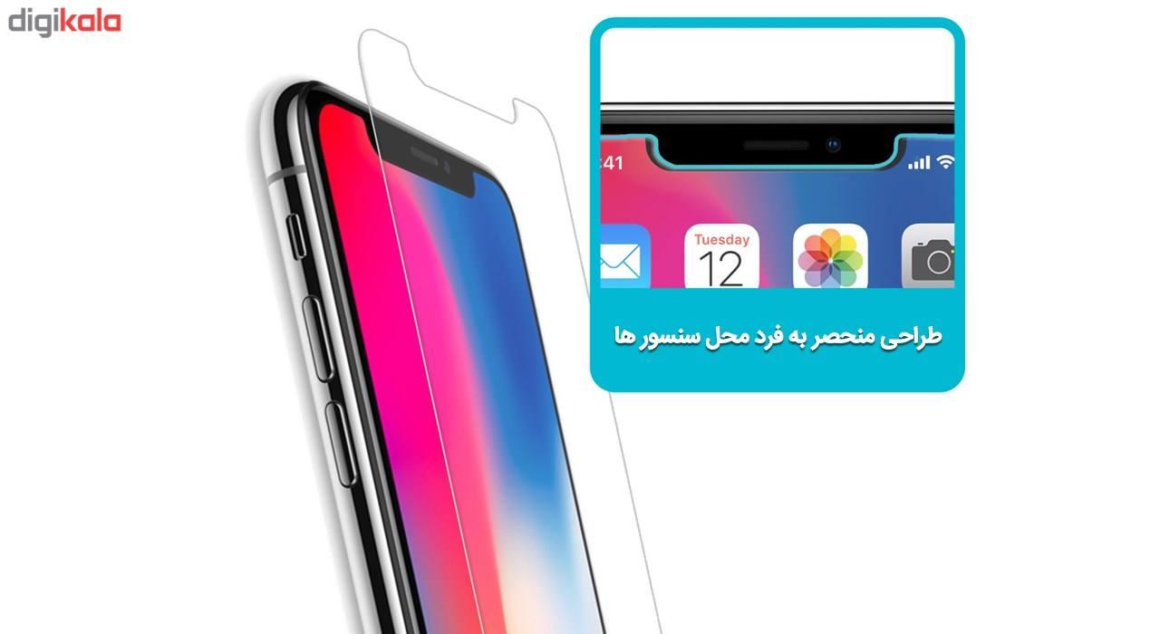 محافظ صفحه نمایش تمپرد مناسب برای گوشی موبایل اپل آیفون X main 1 2