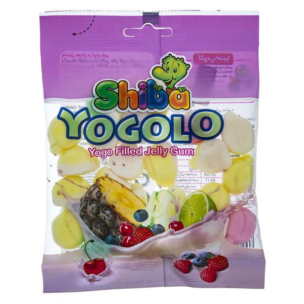 پاستیل میوه ای شیبا مدل Yogolo  مقدار 90 گرم