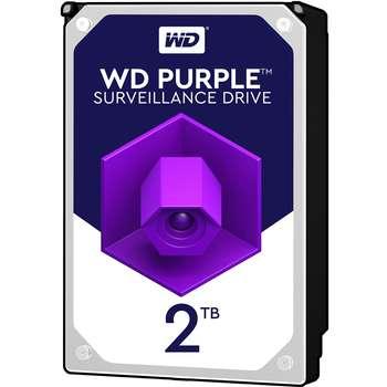 هارددیسک اینترنال وسترن دیجیتال مدل Purple WD20EJRX ظرفیت 2 ترابایت