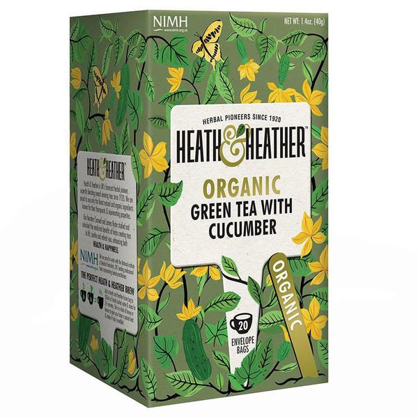 بسته دمنوش هیت و هیتر مدل Green Tea With Cucumber