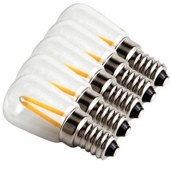 لامپ فیلامنتی 1.5 وات پایه E12 بسته 5 عددی