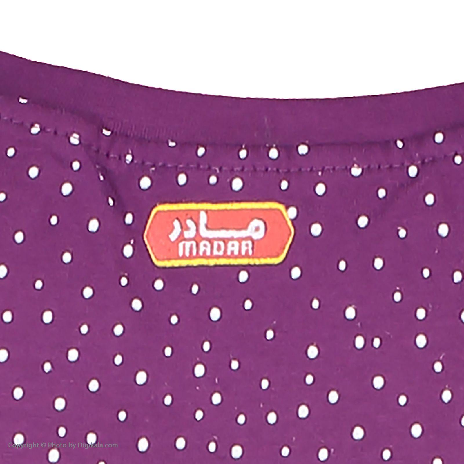 ست تی شرت و شلوارک راحتی زنانه مادر مدل 2041102-84 -  - 8
