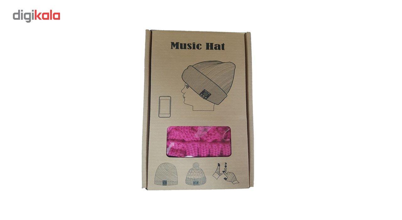 کلاه هدفون بی سیم موزیک هت مدل 1 main 1 1