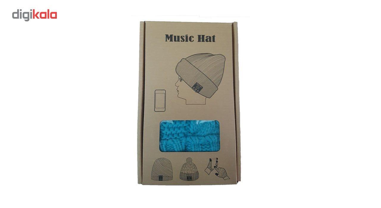 کلاه هدفون بی سیم موزیک هت مدل 1 main 1 3