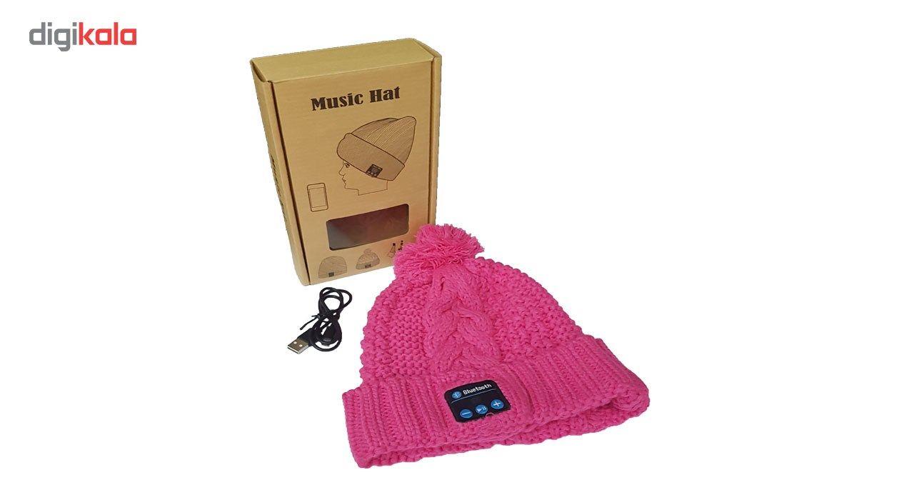 کلاه هدفون بی سیم موزیک هت مدل 1 main 1 7
