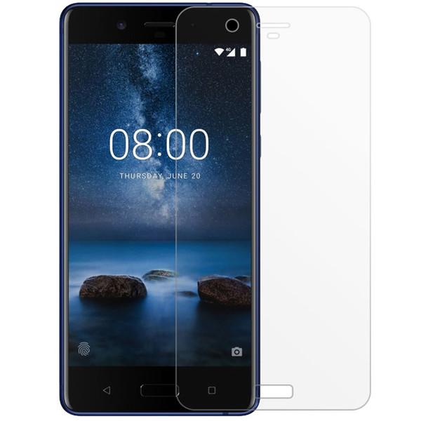 محافظ صفحه نمایش شیشه ای مدل تمپرد مناسب برای گوشی موبایل Nokia 8