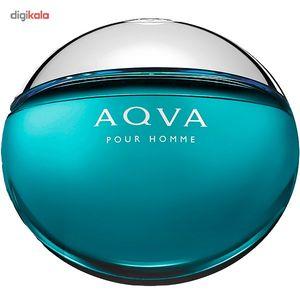 ادو تویلت مردانه بولگاری مدل Aqva Pour Homme حجم 100 میلی لیتر  Bvlgari Aqva Pour Homme Eau De Toi