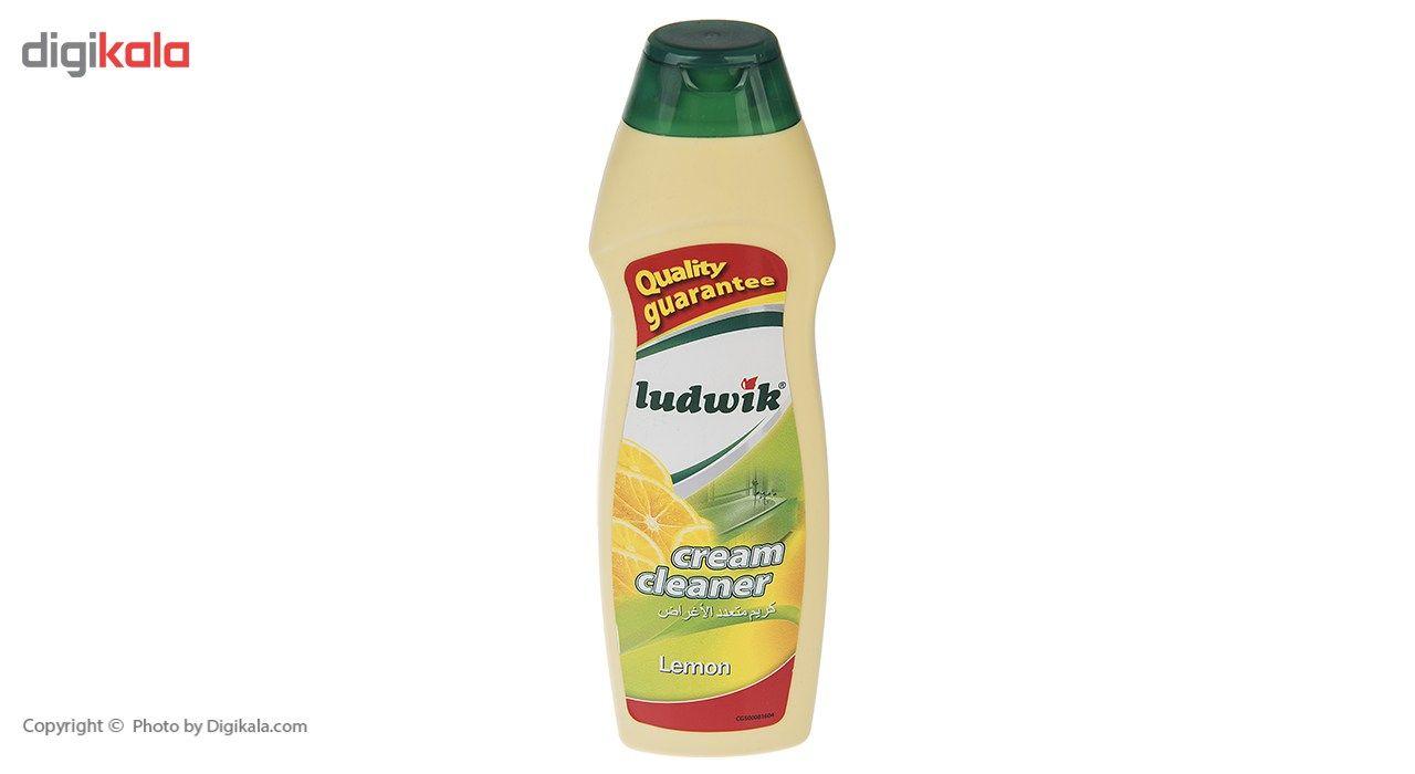 کرم تمیز کننده سطوح لودویک مدل Lemon مقدار 300 گرم main 1 2