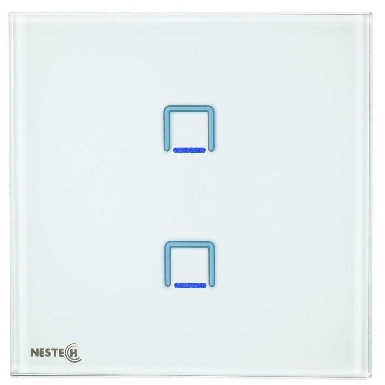 کلید لمسی هوشمند نستک مدل NE4-LS01W-G2