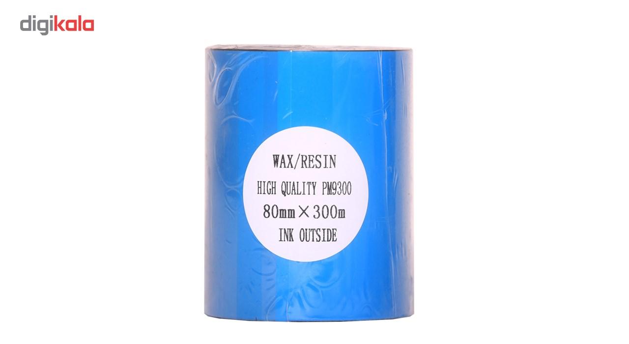 قیمت                      ریبون پرینتر لیبل زن NP مدل Wax Resin 80mm x 300m