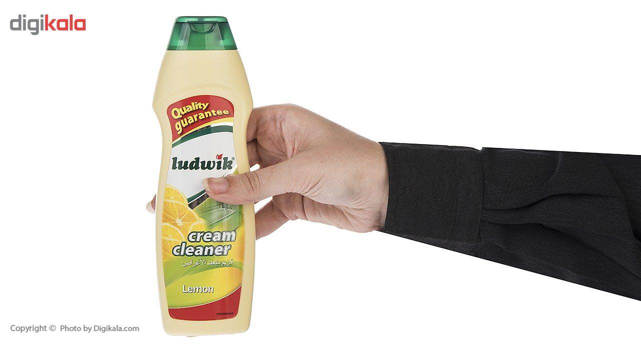 کرم تمیز کننده سطوح لودویک مدل Lemon مقدار 300 گرم main 1 4