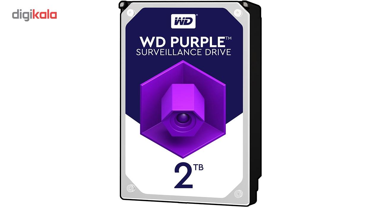 هارددیسک اینترنال وسترن دیجیتال مدل Purple WD20PURZ ظرفیت 2 ترابایت main 1 1