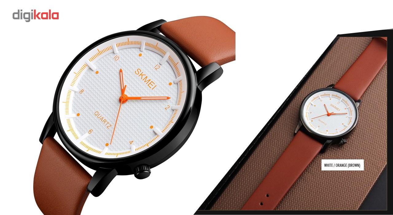 خرید ساعت مچی عقربه ای مردانه اسکمی مدل 1210 کد 01 | ساعت مچی