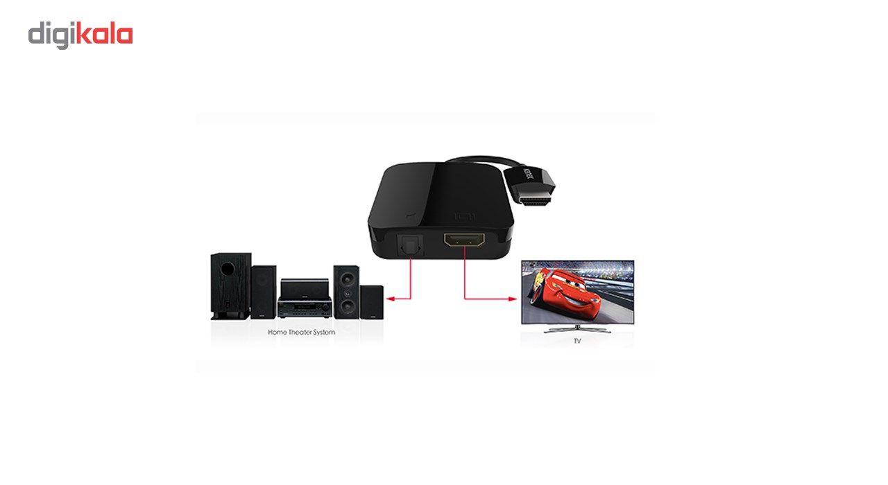 مبدل HDMI به DIGITAL AUDIO کنکس مدل K172-1073-BK7I main 1 4