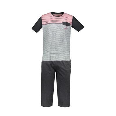 Photo of تی شرت و شلوارک راحتی مردانه پی جامه مدل 5208