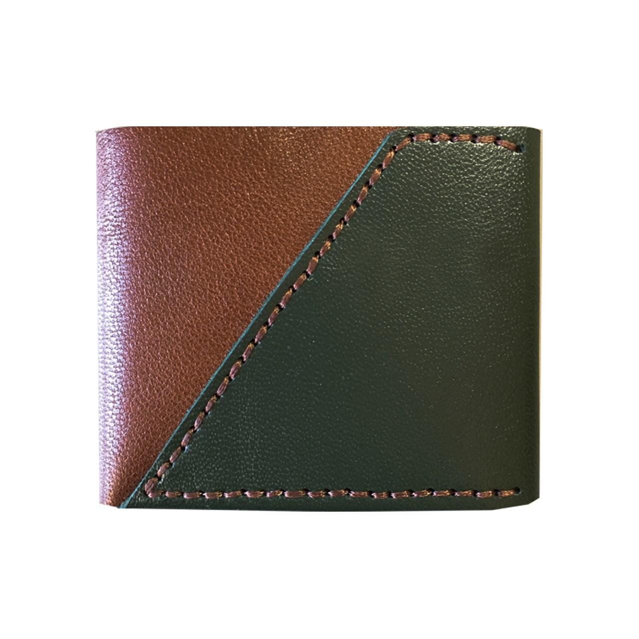 کیف پول چرم طبیعی ای دی گالری مدل B1