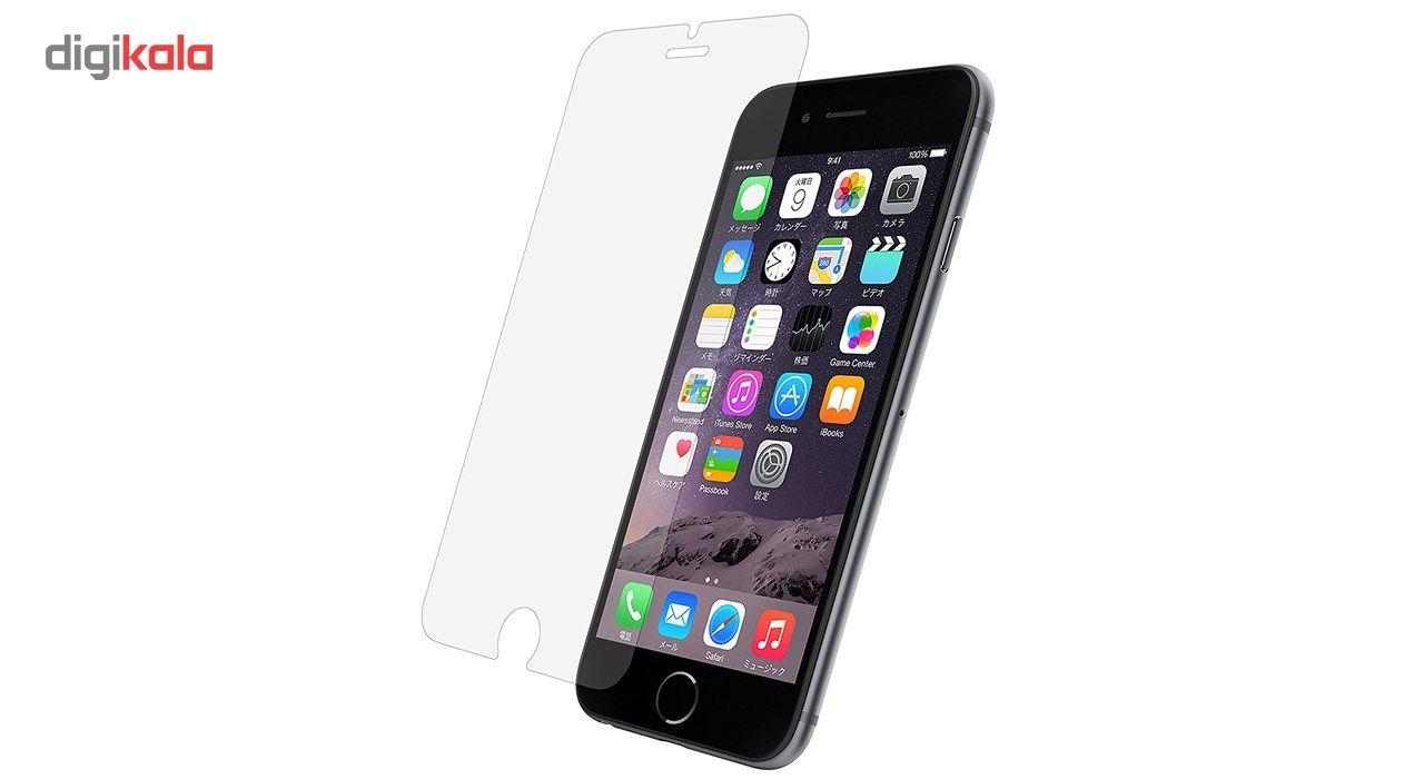 محافظ صفحه نمایش  تمام چسب شیشه ای پیکسی مدل Clear  مناسب برای گوشی اپل آیفون 6/6s main 1 2
