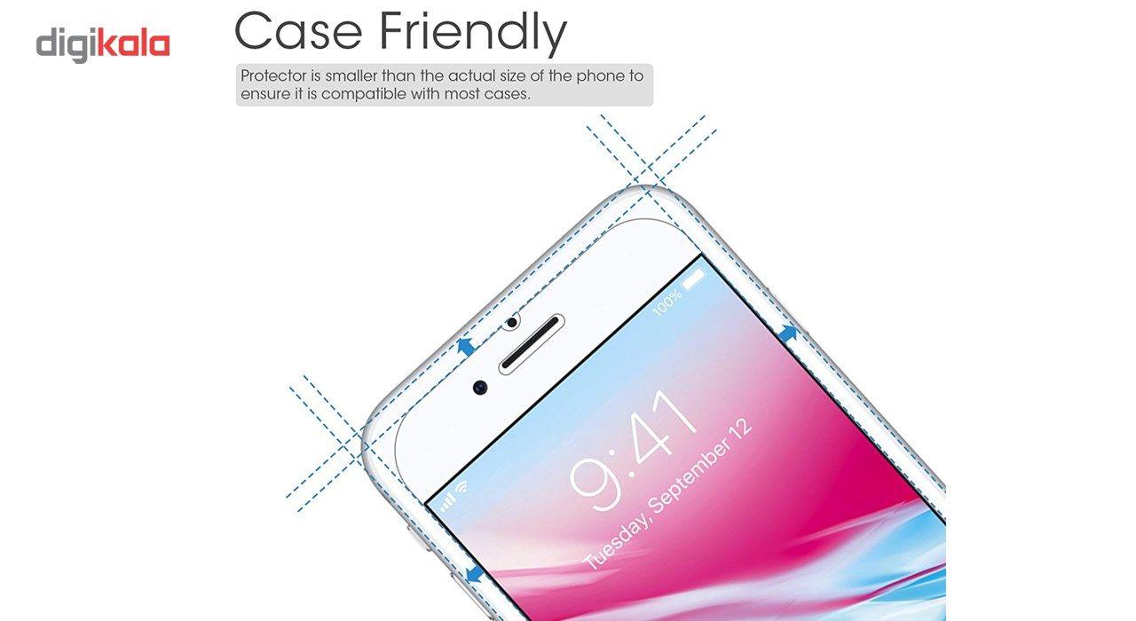 محافظ صفحه نمایش  تمام چسب شیشه ای پیکسی مدل Clear  مناسب برای گوشی اپل آیفون 6/6s main 1 3