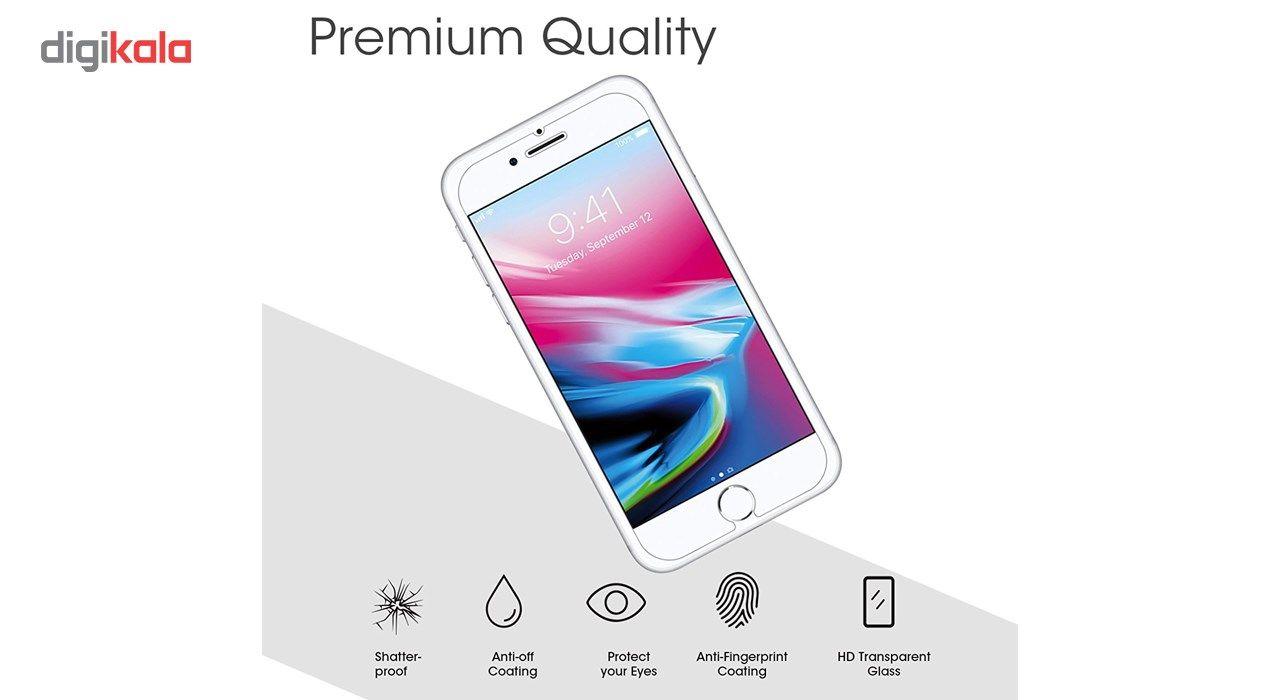 محافظ صفحه نمایش  تمام چسب شیشه ای پیکسی مدل Clear  مناسب برای گوشی اپل آیفون 6/6s main 1 4