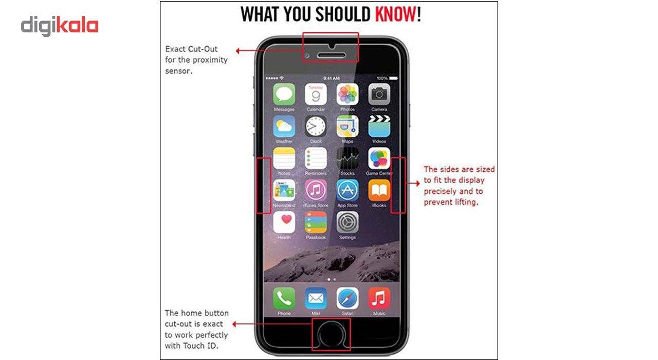 محافظ صفحه نمایش  تمام چسب شیشه ای پیکسی مدل Clear  مناسب برای گوشی اپل آیفون 6/6s main 1 5