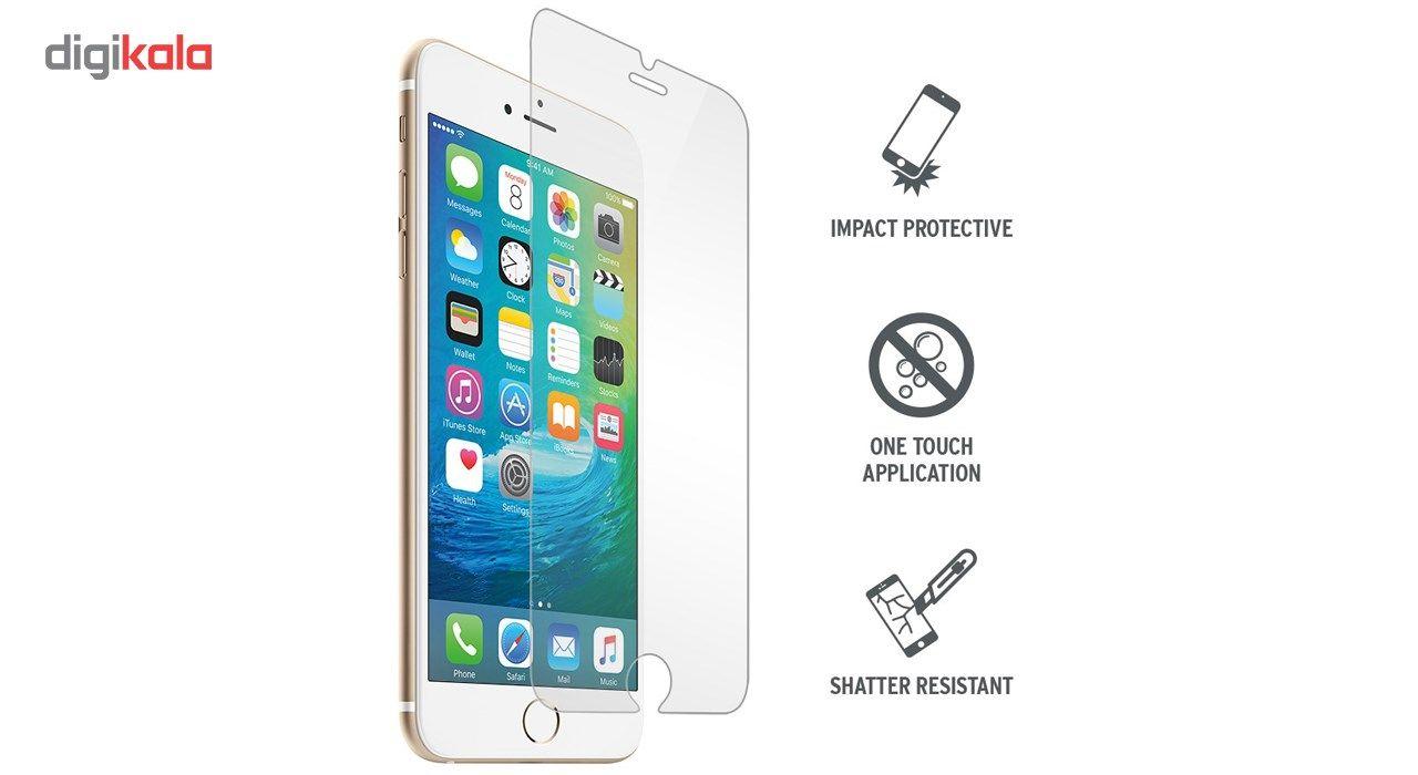 محافظ صفحه نمایش  تمام چسب شیشه ای پیکسی مدل Clear  مناسب برای گوشی اپل آیفون 6/6s main 1 6