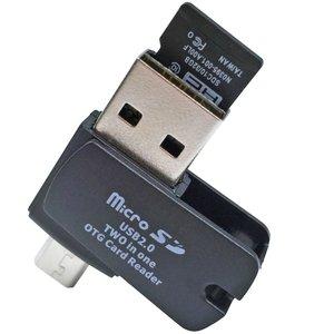 کارت خوان USB 2.0 و MicroUSB OTG ای نت مدل Smart