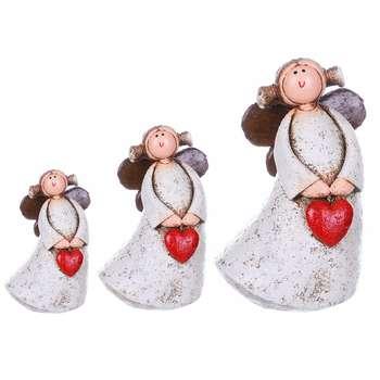 مجسمه روشا مدل Three Angels مجموعه 3 عددی