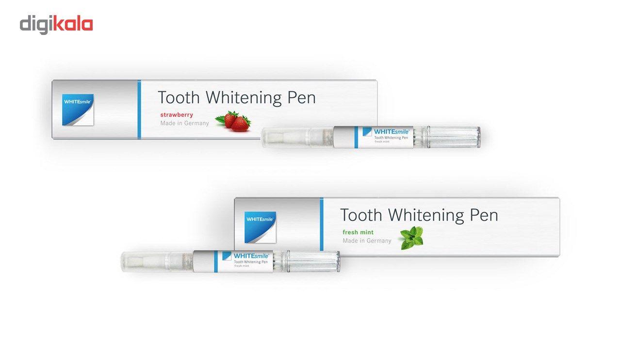 قلم سفید کننده دندان وایت اسمایل مدل نعنایی main 1 1