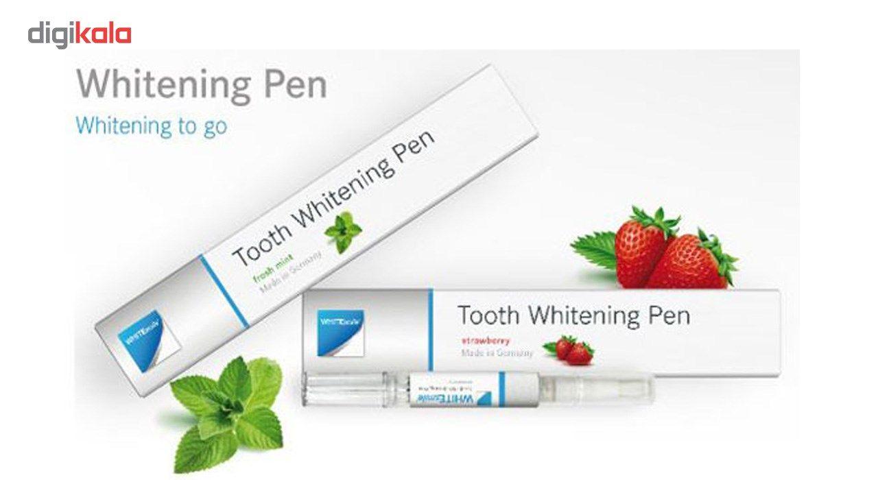 قلم سفید کننده دندان وایت اسمایل مدل نعنایی main 1 2