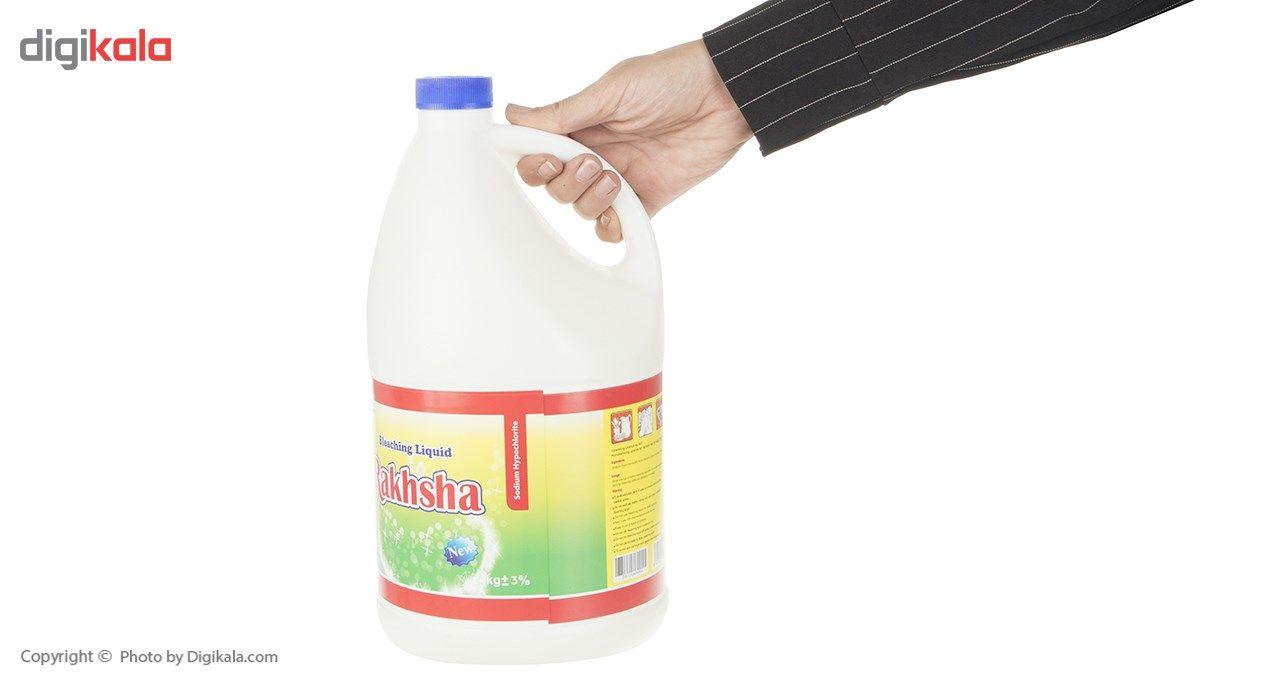 مایع سفید کننده رخشا مقدار 4 کیلو گرم main 1 2