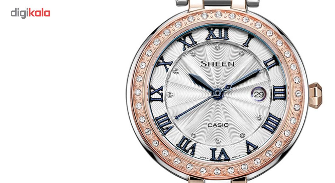 ساعت مچی عقربه ای زنانه کاسیو مدل SHE-4034BSG-7BUDR              ارزان