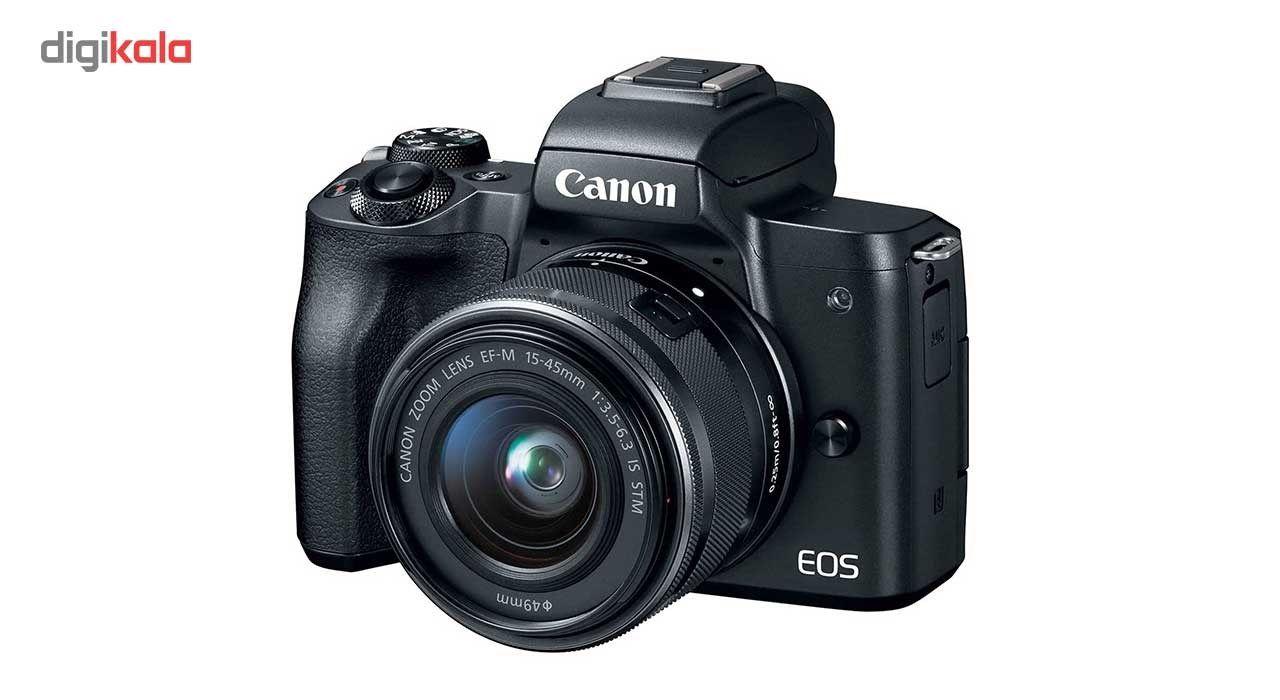 دوربین دیجیتال بدون آینه کانن مدل EOS M50  به همراه لنز 15-45 میلی متر main 1 1