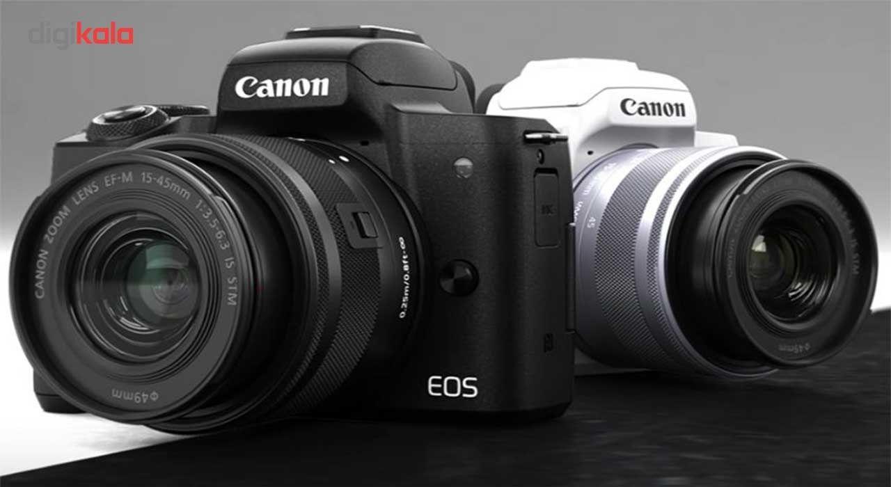 دوربین دیجیتال بدون آینه کانن مدل EOS M50  به همراه لنز 15-45 میلی متر main 1 2