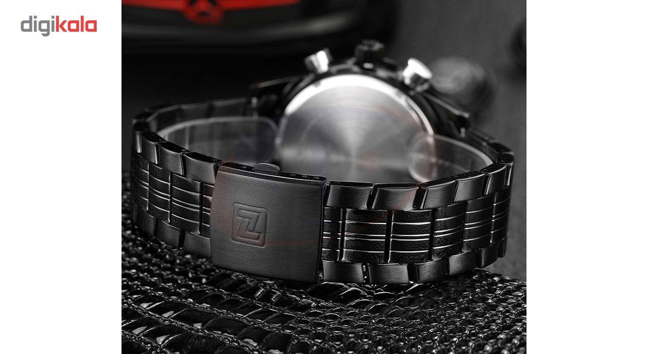 ساعت مچی عقربه ای مردانه نیوی فورس مدل NF9024M/BBR -  - 5