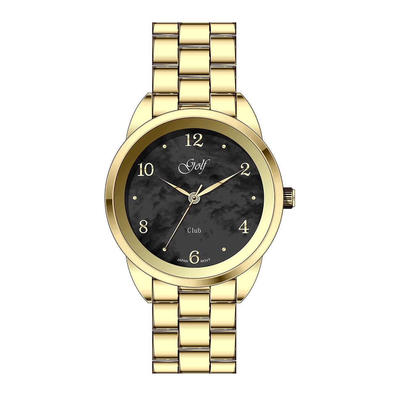 ساعت مچی عقربه ای زنانه گلف مدل L0110-4