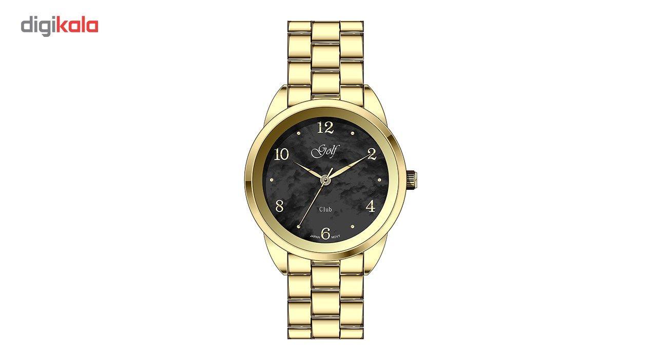 ساعت مچی عقربه ای زنانه گلف مدل L0110-4 -  - 2