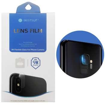 محافظ لنز دوربین بست سوت مدل TPU مناسب برای گوشی موبایل سامسونگ Galaxy S9