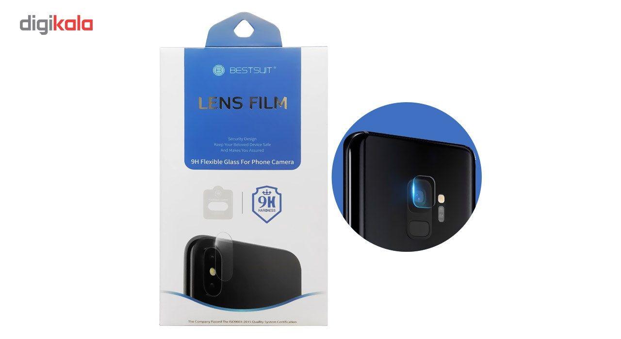 محافظ لنز دوربین بست سوت مدل TPU مناسب برای گوشی موبایل سامسونگ Galaxy S9 main 1 1
