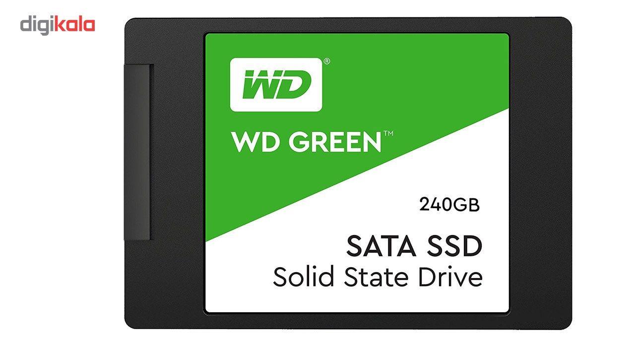 اس اس دی اینترنال وسترن دیجیتال مدل Green WDS240G2G0A ظرفیت 240 گیگابایت main 1 1
