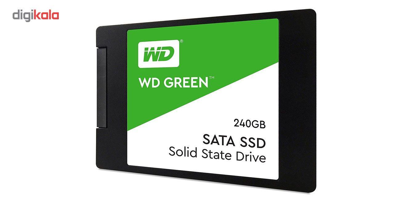 اس اس دی اینترنال وسترن دیجیتال مدل Green WDS240G2G0A ظرفیت 240 گیگابایت main 1 2