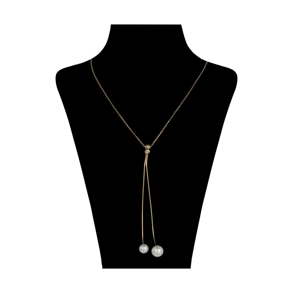 گردنبند طلا 18 عیار زنانه سیودو مدل 145582