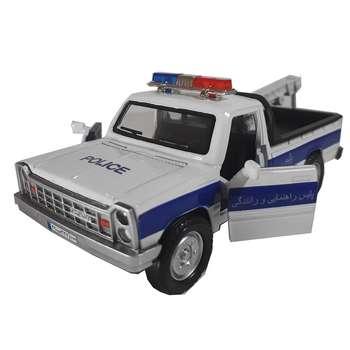 ماشین بازی نیسان پلیس مدل P0