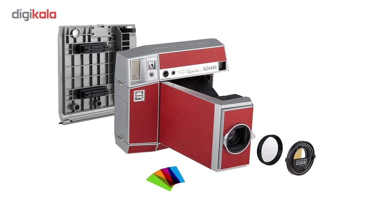 دوربین چاپ سریع لوموگرافی مدل Lomo Instant Square Glass Combo سری Pigalle